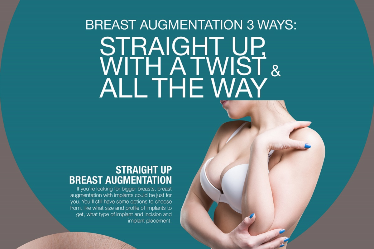 Breast Augmentation 3 Ways [Infographic]